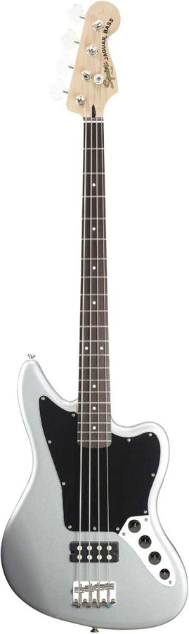 Squier Vintage Modified Jaguar® Bass Special Silver w/ HM Pickup