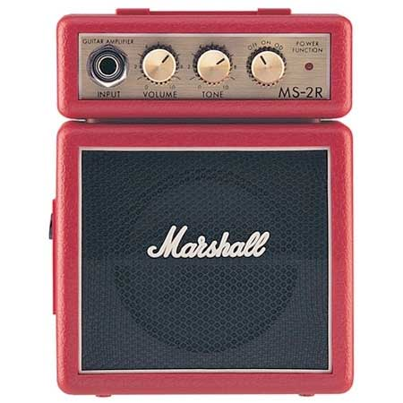 Marshall MS-2 Micro Amps Red Micro Amp