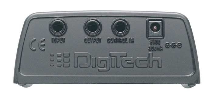 Digitech RP55 Rear View