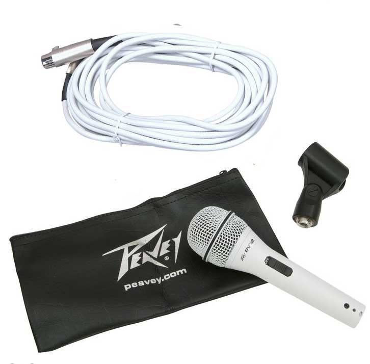 Peavey PVI 2 Included Accessories White