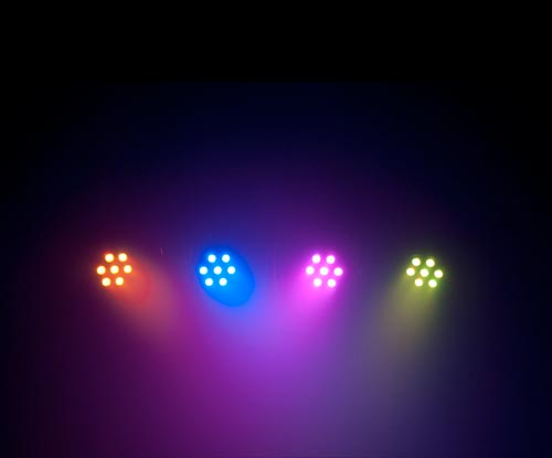 Chauvet 4BAR Tri Sample View 4