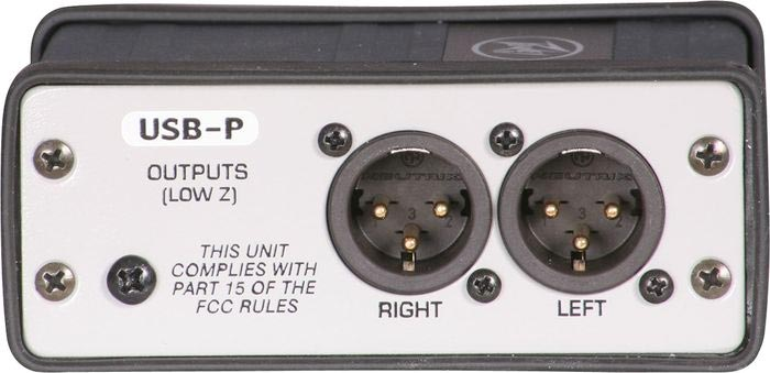 Peavey USB-P Rear View