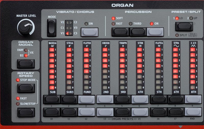 Nord Electro NE373 HP Organ Section