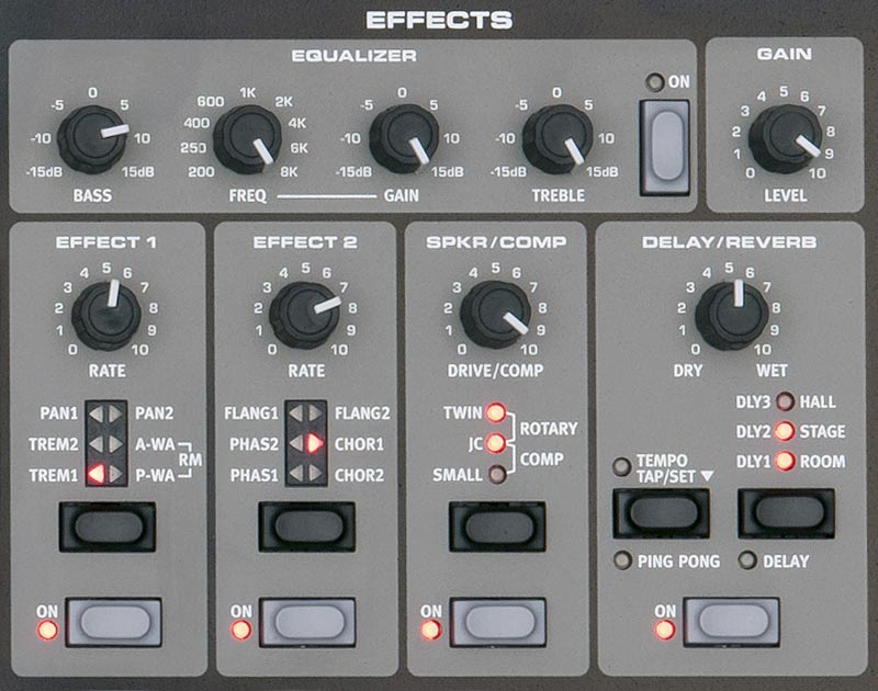 Nord Electro NE373 HP Effects Section
