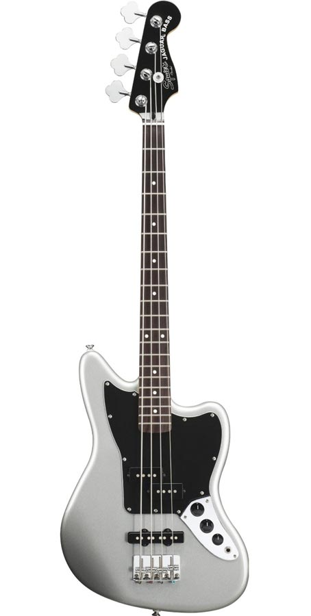 Squier Vintage Modified Jaguar Bass Special SS (Short Scale) Silver