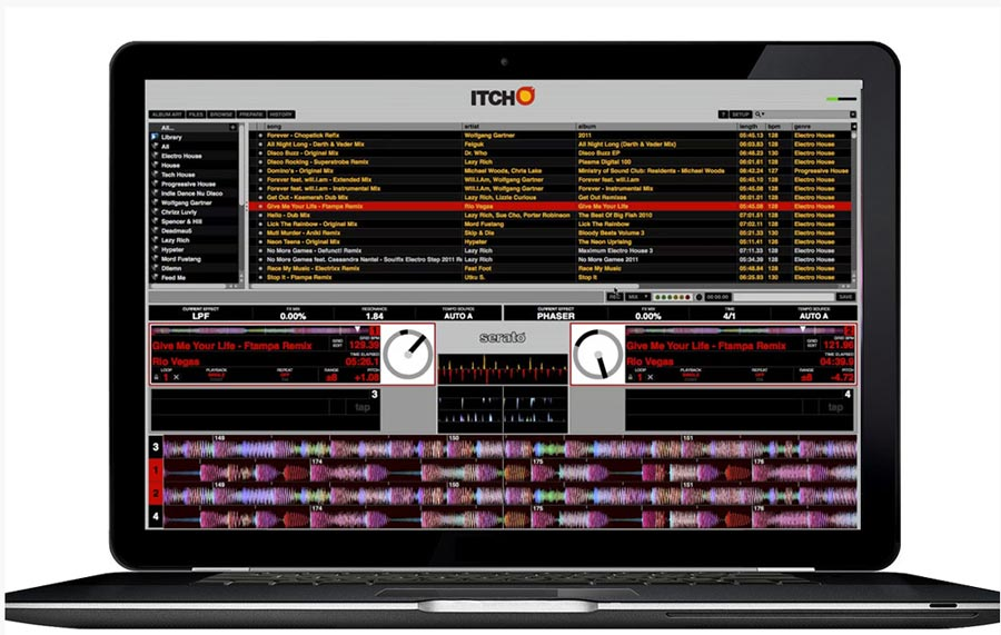 Numark NS6 Serato's ITCH Software