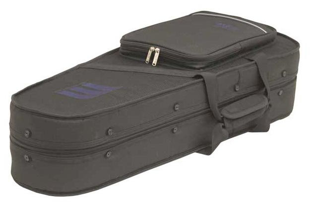 6151-2 Black Zero-Gravity A/F-Style Mandolin Case