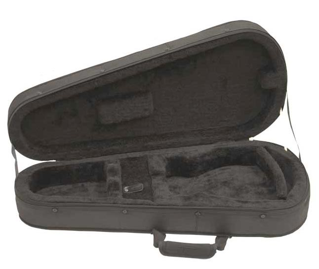 TKL 6151-2 Black Zero-Gravity A/F-Style Mandolin Case Opened View