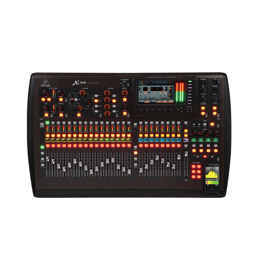 Behringer X32Angled View
