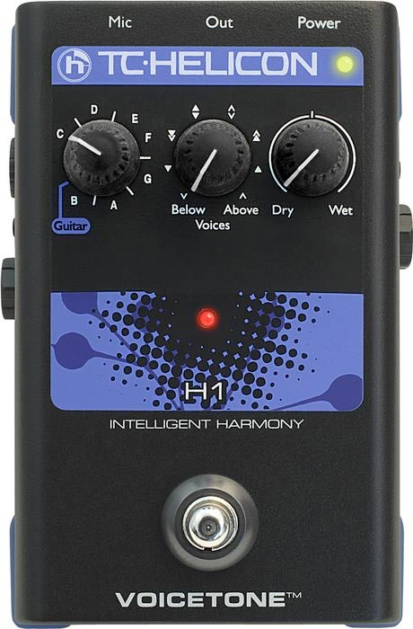 TC Electronic VoiceTone H1 Top View