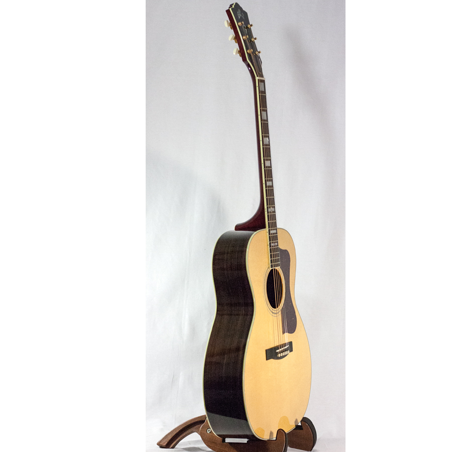 Guild Special Run F-40 Macassar Ebony Angled View