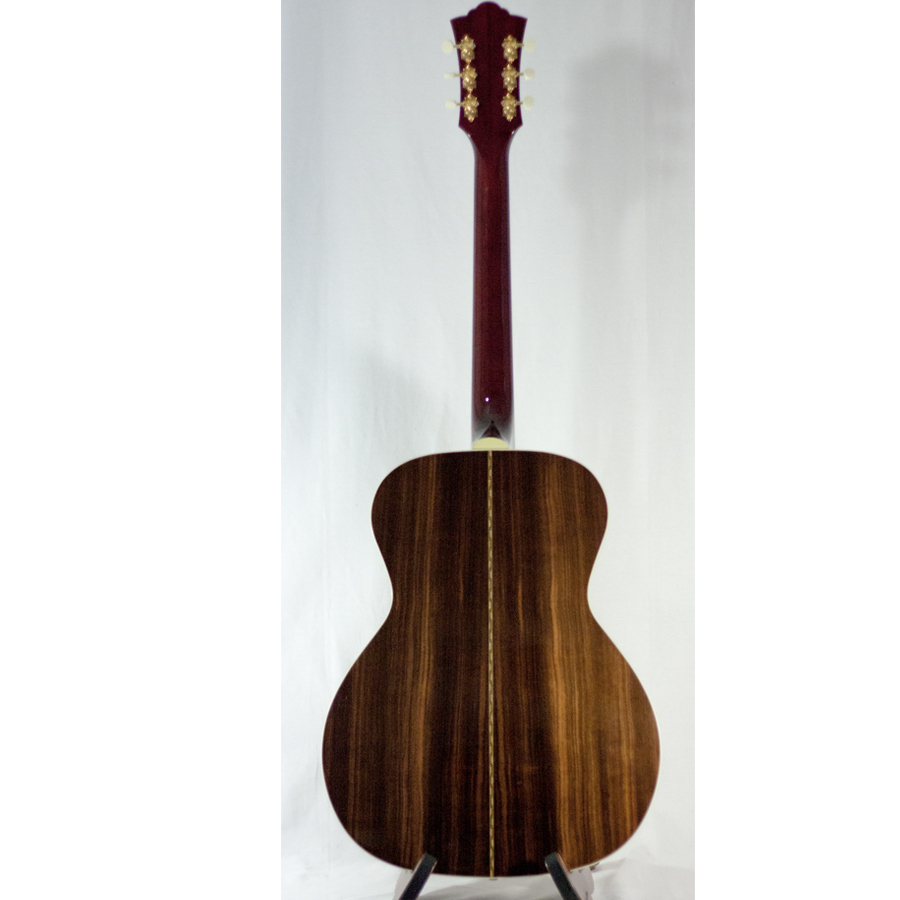 Guild Special Run F-40 Macassar Ebony Rear View