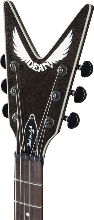 Dean Bret Michaels Z - Metallic Black Headstock