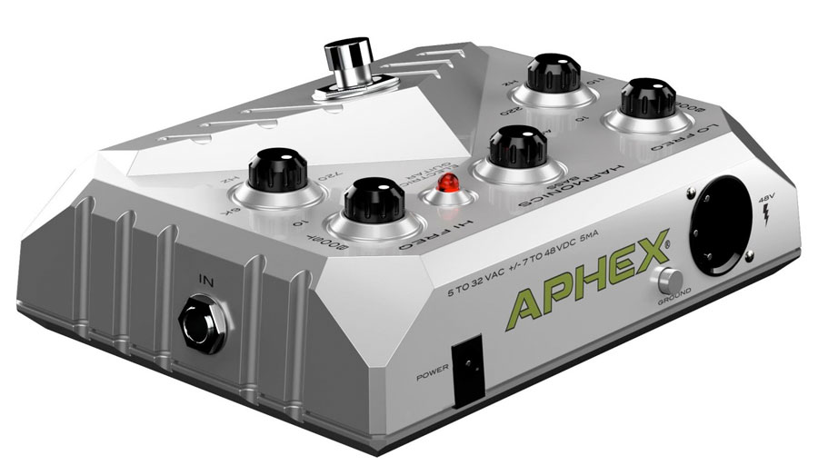 Aphex XCITER Pedal Rear View
