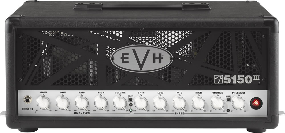 EVH 5150 III Mini Stack - Black Head