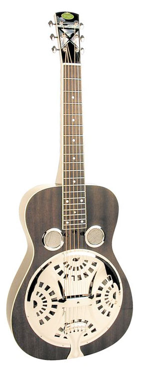 RD52 Black Lightning Squareneck Dobro Guitar