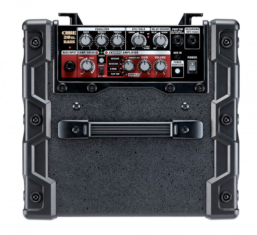 Roland CUBE-20XL BASS Top View