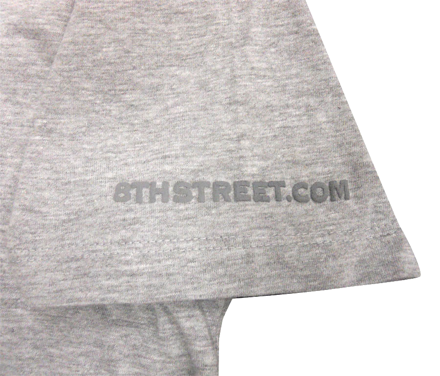 Shure 8th Street Headphones - Ladies T-Shirt Sleave Detail