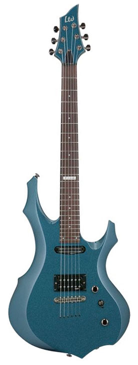 ESP LTD F-10 Gunsmoke Blue
