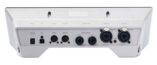 Lexicon IO22 Rear View