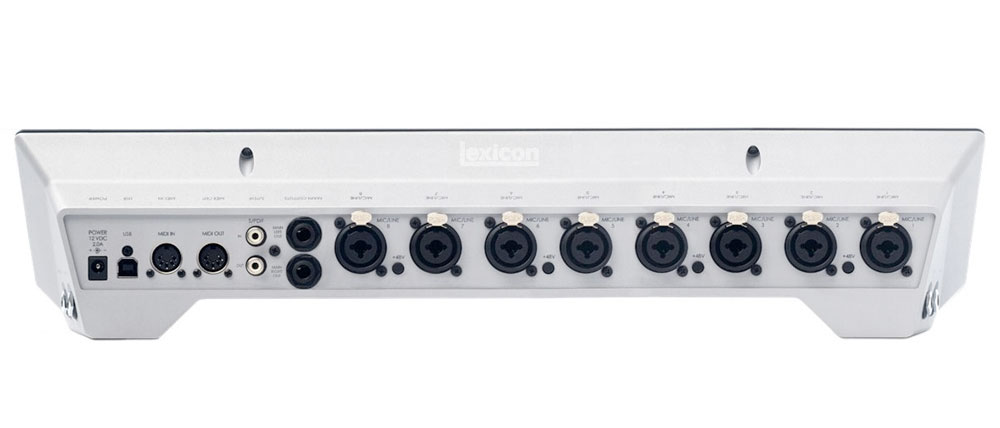 Lexicon IO82 Rear View