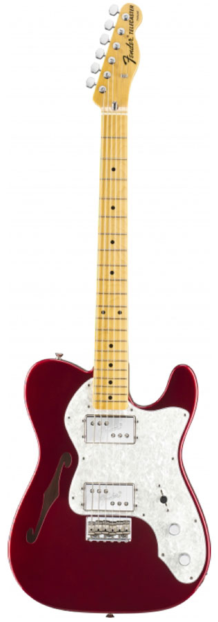 American Vintage '72 Telecaster® Thinline - Candy Apple Red