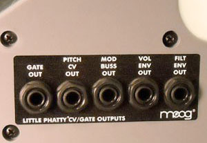 Moog Little Phatty Stage II CV CV Output Mod