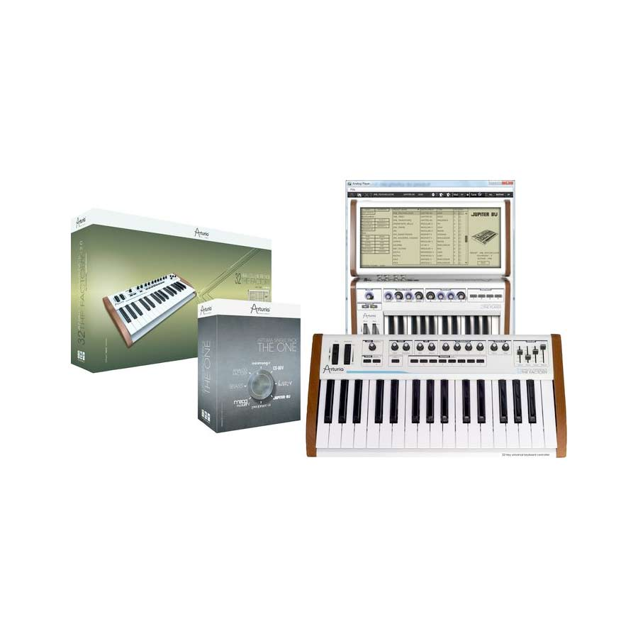 25-Key Keyboard Analog Factory Experience + The One Bundle
