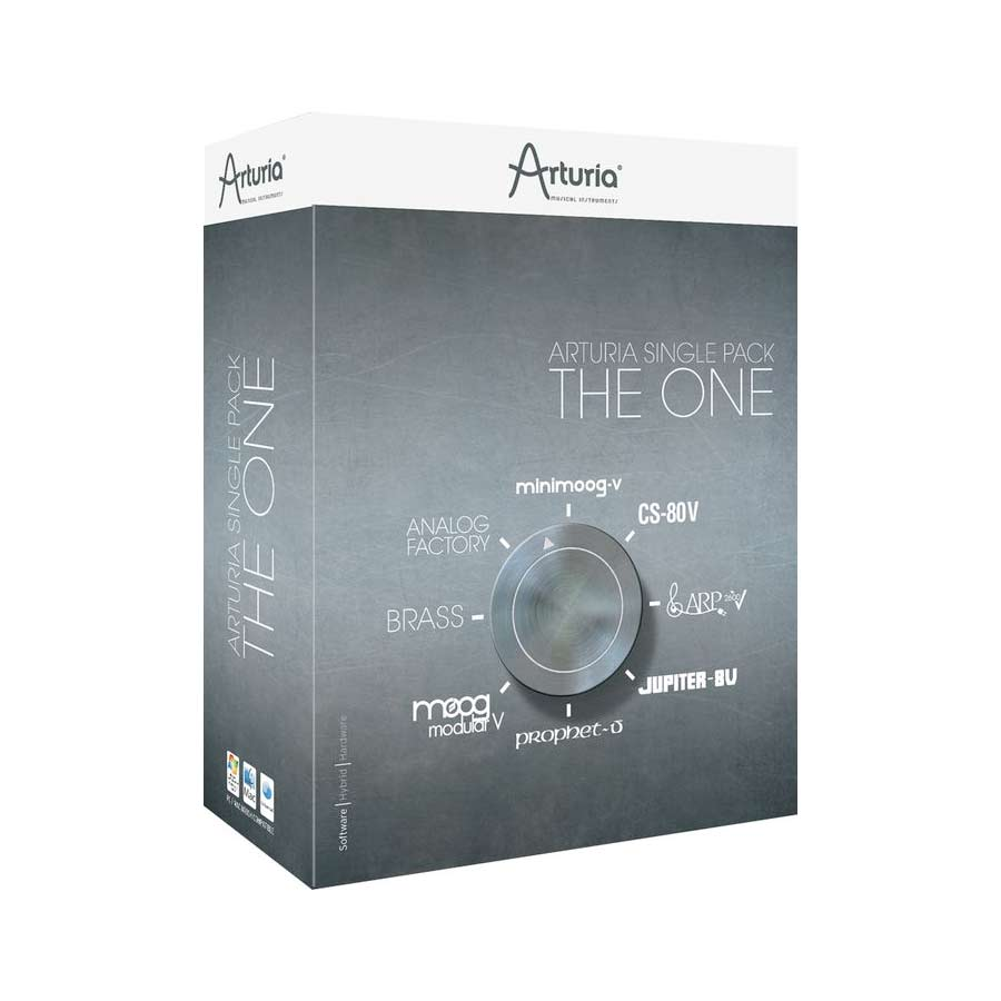 Arturia 25-Key Keyboard Analog Factory Experience + The One Bundle The One