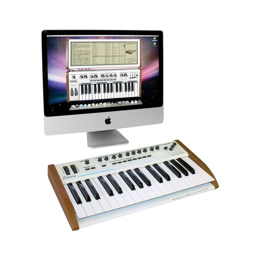 Arturia 25-Key Keyboard Analog Factory Experience + The One Bundle Software and Keyboard