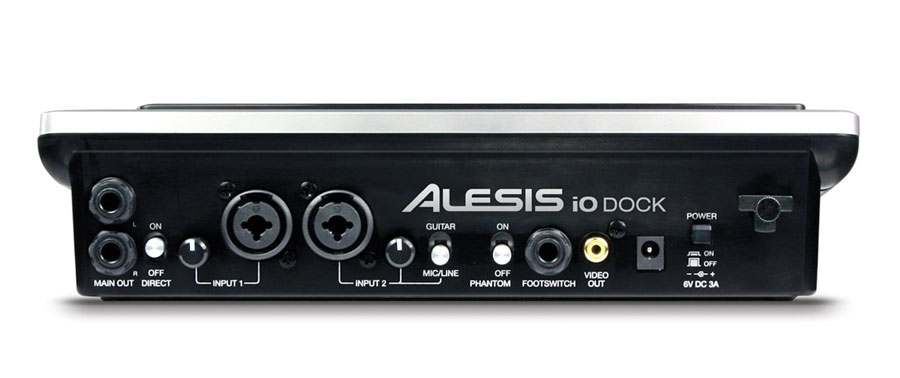 Alesis I/O Dock Rear View