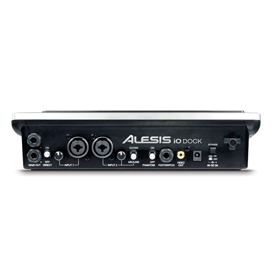 Alesis IO Dock Rear View