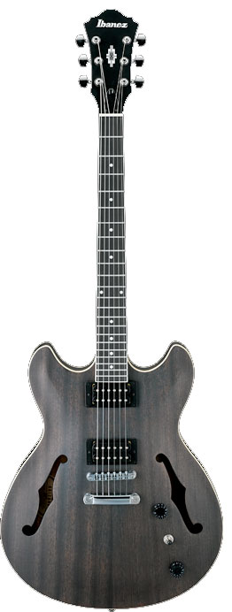 Ibanez AS53 Transparent Black Flat Finish