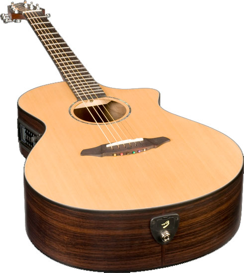 Breedlove Solo C350/CRe Bottom Angled