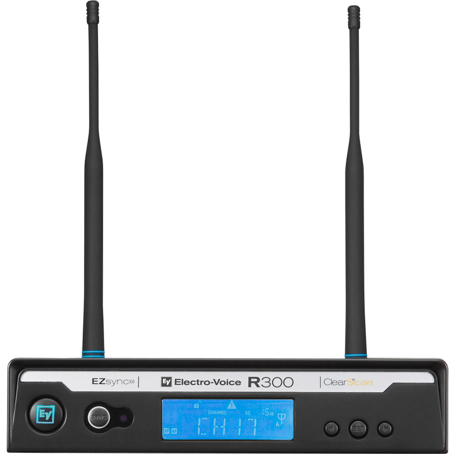 Electro Voice R300 HD  Handheld Wireless System Reciever
