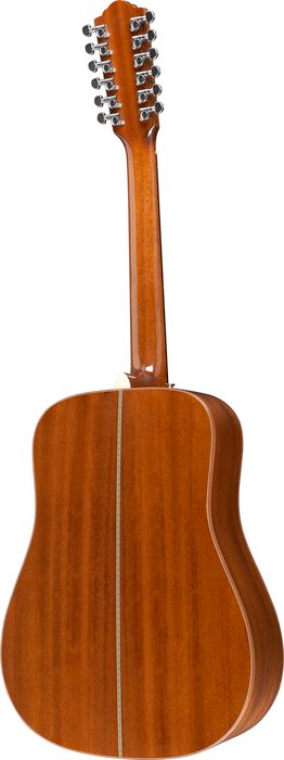 Guild GAD-G212 Antique Burst Rear View