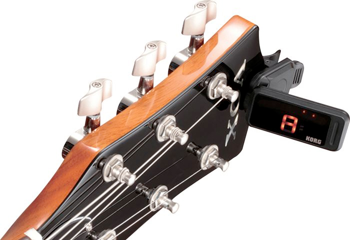 Korg PC1 Pitchclip On Headstock