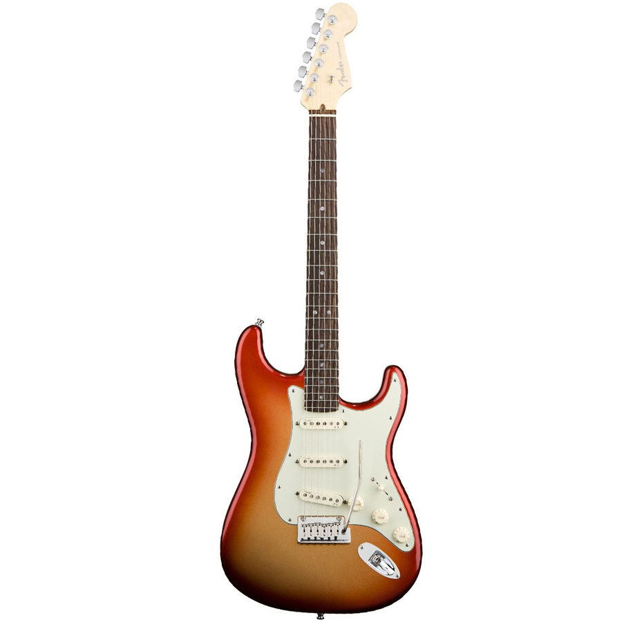 American Deluxe Stratocaster - Sunset Metallic- Rosewood Neck