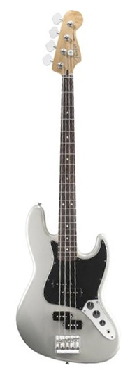 Blacktop Jazz Bass - White Chrome Pearl