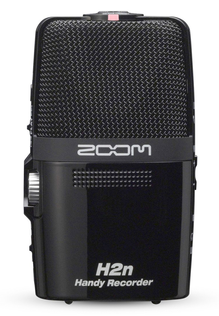 Zoom H2n Back View