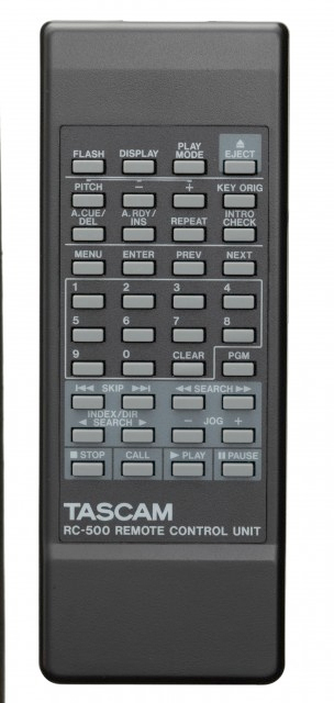 Tascam CD-500B Remote