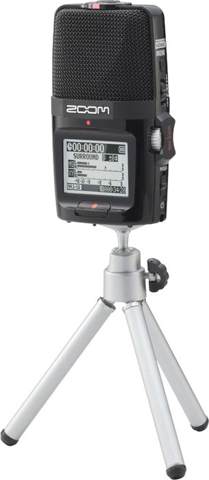 Zoom H2n Accessory Package On Tripod (Recorder Not Included)