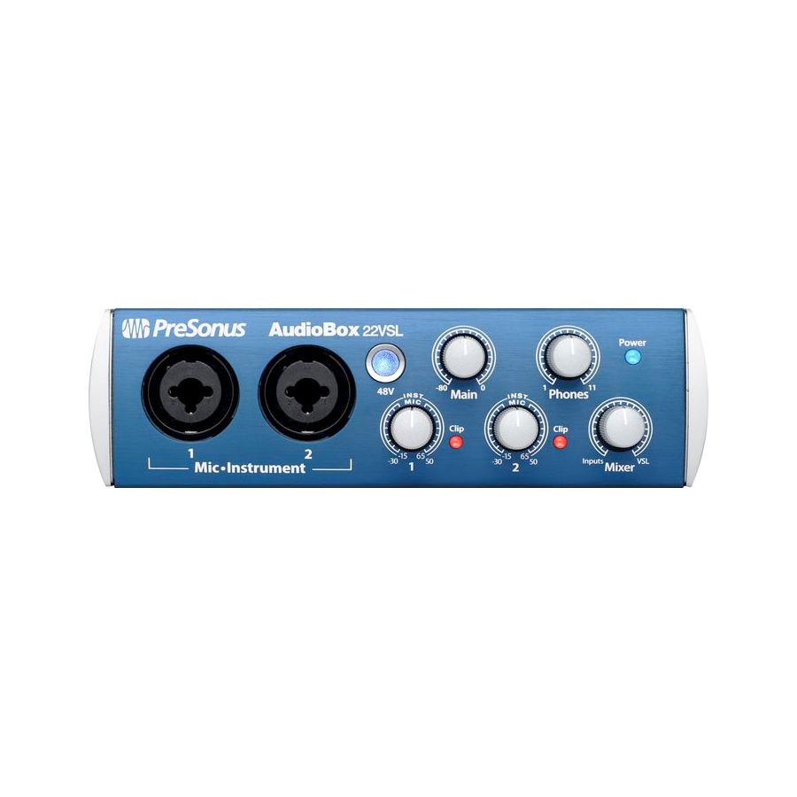 Presonus AudioBox 22VSL Front View