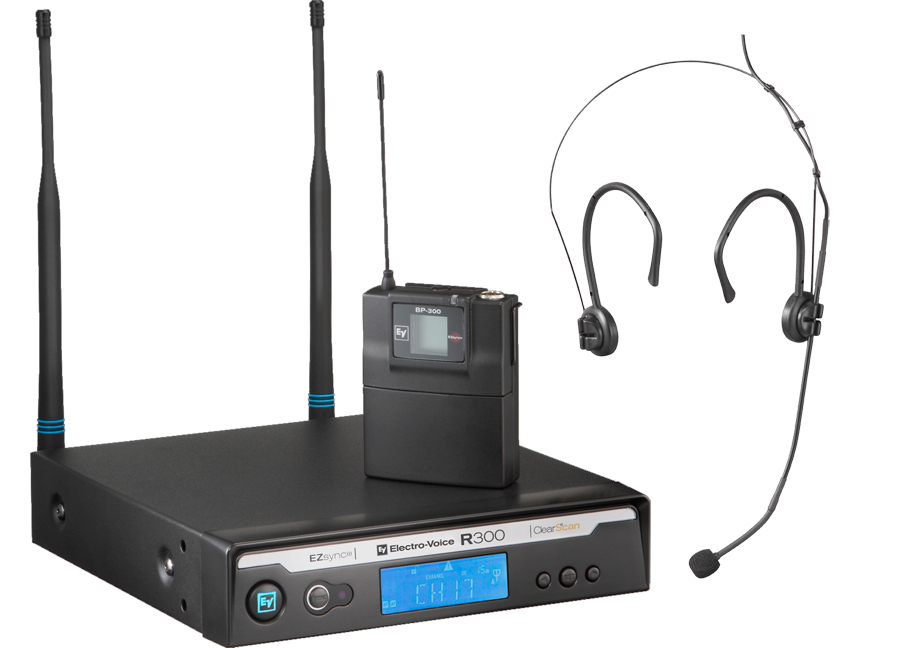 R300-E Headworn Wireless System