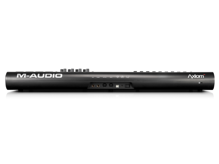 M-Audio Axiom 49 Rear View