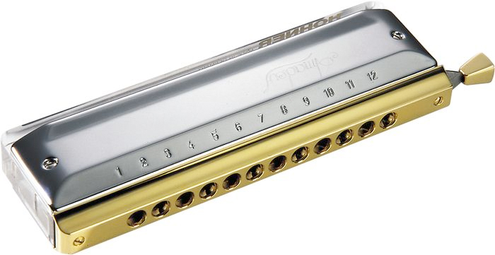 7544/48 Amadeus Chromatic Harmonica - Key of C