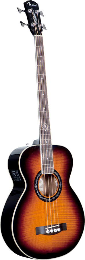 Fender T-Bucket™ Bass - 3-Tone Sunburst Angled View