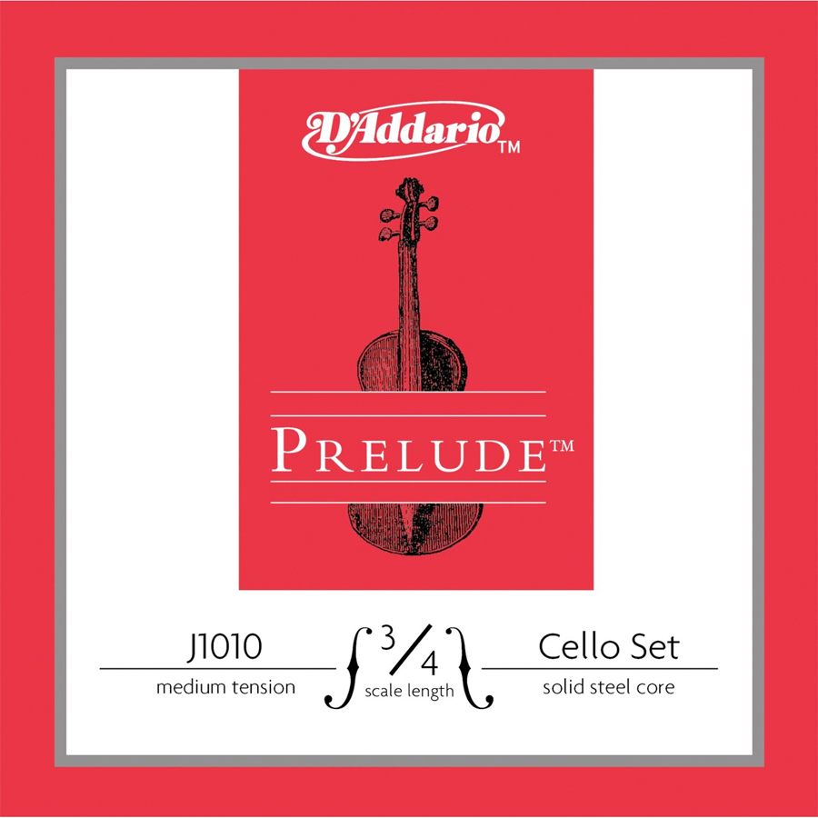 J1010 3/4 size Cello String Set - Medium