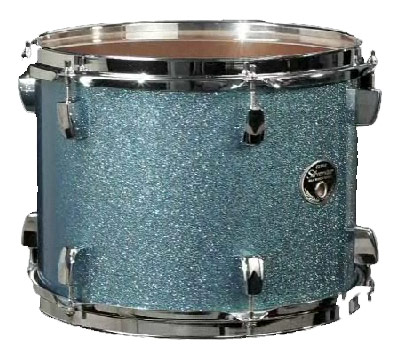 Tama Silverstar Metro JAM Shell Kit Sky Blue Sparkle Tom
