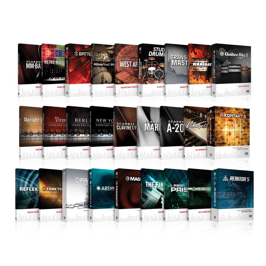 Native Instruments Komplete 8 Software Included